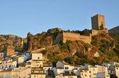Cazorla Castle in the evening — Stock Photo