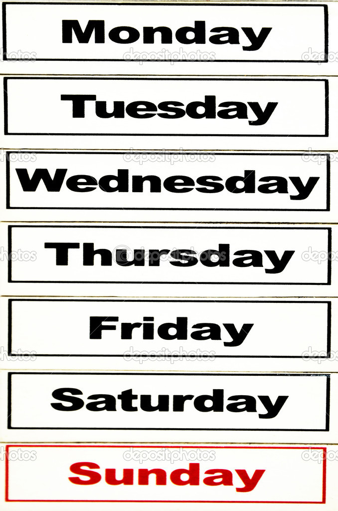 Day Of The Week Refund Is Deposited | Calendar Template 2016