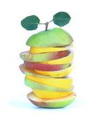 Manzana en rodajas. — Foto de Stock
