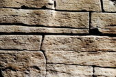 Rough and irregular stone background — Stock Photo