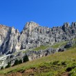 Mountain landscape, italian alps named dolomiti — Stock Photo