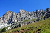Mountain landscape, italian alps named dolomiti — Stock Photo