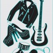 Rock'n'roll — Stock Vector