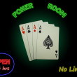 Four Aces In The Poker Room — Stock Photo #6157284