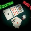 Neon Texas Hold Em — Stock Photo #6161603
