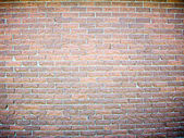 Chiseled Brick Wall Background — Stock Photo