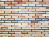 Multi Colored Brick Wall Background — Stock Photo
