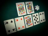 Pai Gow Poker Angled View — Stock Photo
