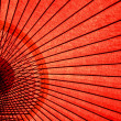 Japanese Oriental umbrella — Stock Photo
