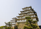 Osaka castle in Osaka city (Tenshu-kaku), Japan — Stock Photo