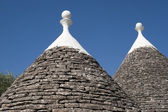 Murge (Puglia, italy) - Trulli — Stock Photo