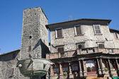 Narni (terni, umbrie, itálie) - staré budovy — Stock fotografie
