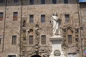 Palestrina (Rome, Lazio, Italy) - Statue of Pierluigi da P. — Stock Photo