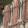 Bologna (Emilia-Romagna, Italy), Historic palace, facade — Stock Photo