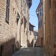 Sarnano (Macerata, Marches, Italy) - Old street — Stock Photo #6256031