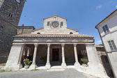 Lugnano in Teverina (Terni, Umbria, Italy) - Old church — Foto Stock