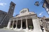 Lugnano in Teverina (Terni, Umbria, Italy) - Old church — Stock Photo