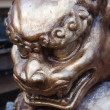 Verona (Veneto, Italy), Arena: fake of beast statue for Turandot — 图库照片