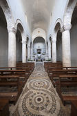 Lugnano in Teverina (Terni, Umbria, Italy) - Old church interior — Stock Photo