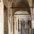 Padov(Veneto, Italy), Ancient portico — Stock Photo #6310251