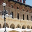 Vigevano, Piazza Ducale — Stock Photo