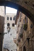 Narni (Terni, Umbria, Italy) - Old buildings — 图库照片