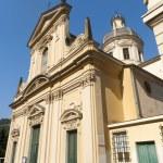Borgonovo Ligure (Genova, italy), historic church — Stock Photo