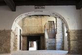 Varzi (Pavia), old buildings — Stock Photo