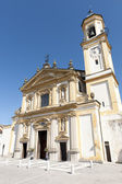 Gaggiano (Milan), historic church — Stock Photo