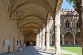 Pavia, el castillo — Foto de Stock