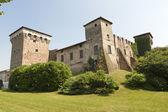 Romano di lombardia (bergamo, lombardie, itálie). středověký hrad — Stock fotografie