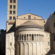 Medieval church in Arezzo (Tuscany, Italy) — Stock Photo #6483413
