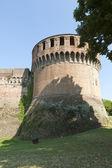 Imola (Bologna, Emilia-Romagna, Italy) - Medieval castle, cylind — Stock Photo