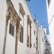 Ostuni (Brindisi, Puglia, Italy) - Old town — Stock Photo