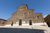 Faenza (ravenna, emilia-romagna, italia) - fachada de la catedral, rena — Foto de Stock