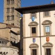 Medieval buildings in Arezzo (Tuscany, Italy) - Foto de Stock  