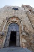 Acerenza (potenza, basilicata, włochy): fasada katedry — Zdjęcie stockowe