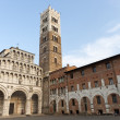 Cathedral of Lucca (Tuscany) — Stock Photo