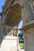 Benevento (campania, i̇talya): arco di borghese'nin bilinen roma arch — Stok fotoğraf