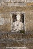 Acerenza (Potenza, Basilicata, Italy): cathedral facade, detail — Stock Photo