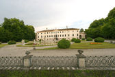 Treviso (Veneto, Italy) - Ancient villa and park — Stock Photo
