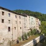 Comunanza (Ascoli Piceno, Marches, Italy) - Old houses — Stock Photo #6703662