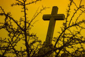 Hilltop Cross — Stock Photo