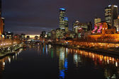 Melbourne Night — Stock Photo