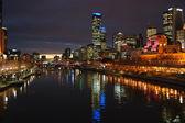 Melbourne Night — Stock Photo