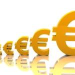 Rising Euro — Stock Photo
