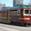 Tram in Motion — Stock Photo #6689980