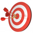 Hitting Targets — Stock Photo