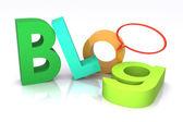 Blog Concept — Stock Photo