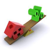 Housing Market Illustration — Stock Photo